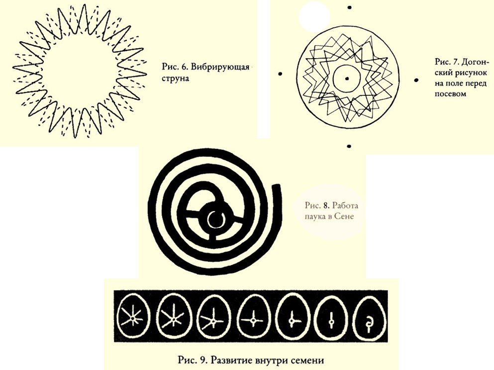 четыре рисунка из книги Лэда Скрэнтона